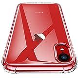 CANSHN iPhone XR Hülle, Hochwertig Transparent Weiche Durchsichtig Dünn Handyhülle mit TPU...