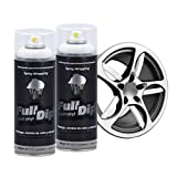 AutoFullCar Full Dip Pack 2 Spray Colores FULLDIP - TiendaFullDip.com (Blanco)