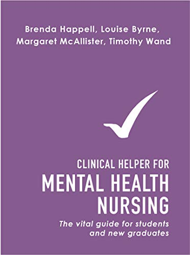 41IT0Z2gz+L - Clinical Helper for Mental Health Nursing: The vital guide for students and new graduates