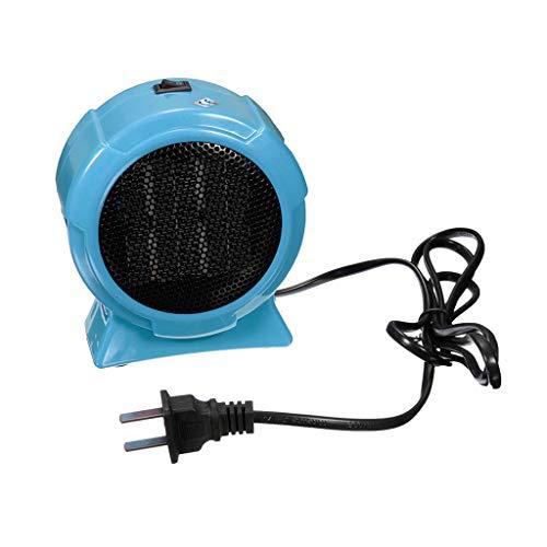 Aoyo Calefactores Mini Calentadores Eléctricos, Calentador de Calefacción de Ventilador Práctico Controlado Portátil de Escritorio de Hogar de Invierno (220V, 500W) (Color : B)