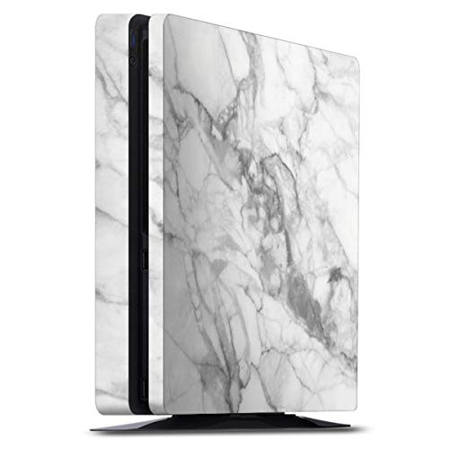DeinDesign Skin kompatibel mit Sony Playstation 4 PS4 Slim Folie Sticker Stein Marmor Muster
