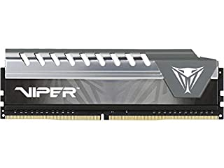 Patriot Memory Viper Elite DDR4 2400 8GB (1x8GB) C16 Módulo RAM de Memoria Alto Rendimiento XMP 2.0 Negro/Gris PVE48G240C6GY (B074Q1G6VR) | Amazon price tracker / tracking, Amazon price history charts, Amazon price watches, Amazon price drop alerts