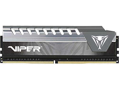 Patriot Viper Elite Series 4GB 2400MHz Single Channel Cas 6 DDR4 Performance Memory Module PVE44G240C6GY