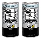 2 cans of New BG 44K Platinum