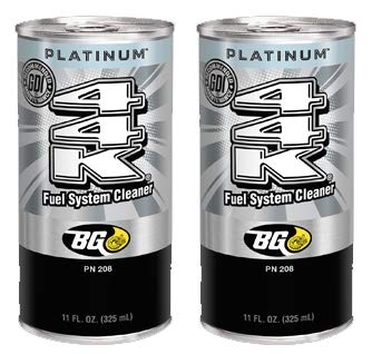 2 Cans of New BG 44K Platinum Fuel System Cleaner Review