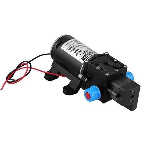 TANGIST Bomba de agua 12V 100W de alta presión autocebante 160Psi 8Lpm Caravan Camping Barco