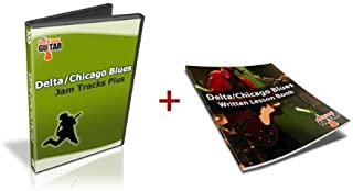 Delta/Chicago Blues Guitar Jam Tracks Plus: Includes 50+ Page PDF Ebook. Learn Not Just How to Jam, but How to Play Lead Guitar with Confidence from NextLevelGuitar