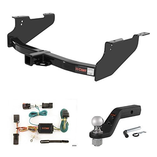 Amazing Deal CURT Trailer Hitch, Wiring & 2 5/16 Forged Ball Mount w/ 4 Drop for Dodge Ram