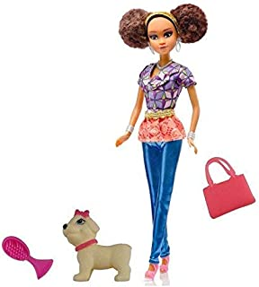Queens of Africa Black Doll Authentic African American Doll for Kids with Accessories (Nneka)