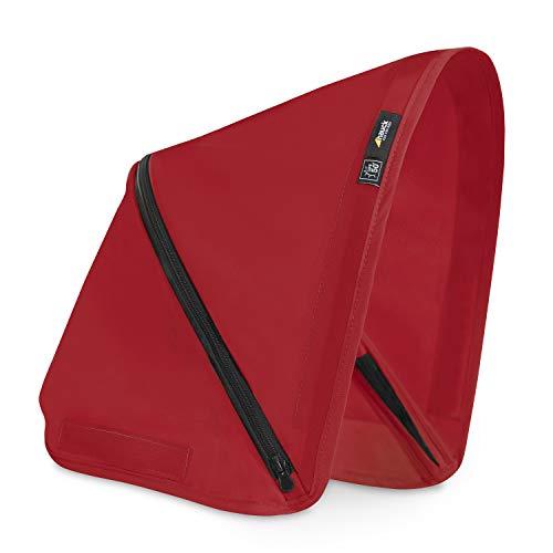 Hauck Sonnen Verdeck für den Buggy Swift X / UV Schutz 50+ / 3 Zonen mit Belüftungs Fenster / vielen Farben und Designs erhältlich / für einen individuellen Look / einfache Befestigung / Rot