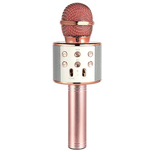 Affordable Wireless Bluetooth Karaoke Microphone 3in1 Portable Handheld Karaoke Mic Speaker Echo MIC...