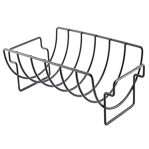 Floridivy High Quality Non-Stick Metal BBQ Gereedschap Steak Houders BBQ grill stand, Rack Grill Stand Roosteren Rib Rack Keuken Accessoires