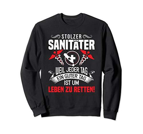 Notfallsanitäter Notarzt Retter Rettungssanitäter Sanitäter Sweatshirt