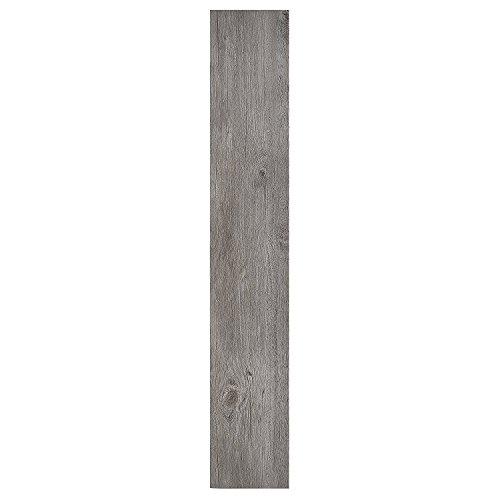 Achim Home Furnishings VFP1.2GO60 Achim Home Imports Nexus Light Grey Oak 6x36 Self Adhesive Vinyl Floor Planks Planks/90 Sq Ft, 60 Pack, 60 Count