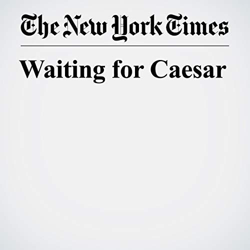 Waiting for Caesar copertina