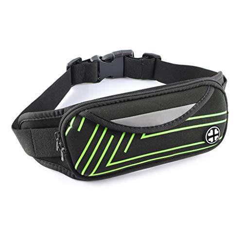 MEIYIN Cinto esportivo à prova d'água para cintura, cinto, pochete para corrida, acampamento, caminhada, bolsa esportiva para cintura, bolsa de cintura