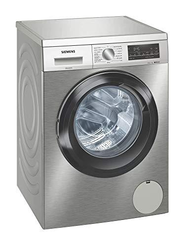 Siemens WU14UT7XES lavatrice Libera installazione Caricamento frontale Acciaio inossidabile 9 kg 1400 Giri/min A+++