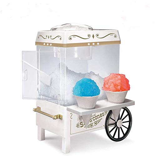 Electric Snow Cone Machine Maker Ice Crusher Shaver Shaved Best Snow Smoothie • Mogullifestyle