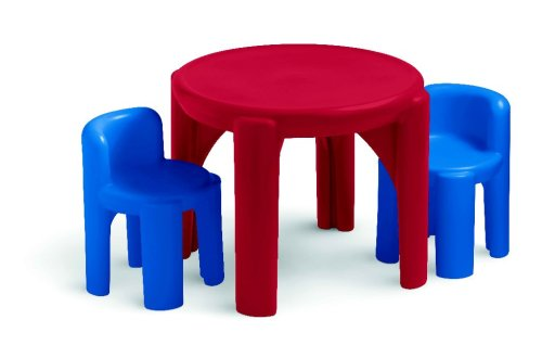 Little Tikes Table & Chairs Set-Primary Colors – Amazon Exclusive