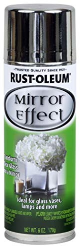Rust-oleum 267727-2pk specialty mirror spray paint, silver, 2 piece