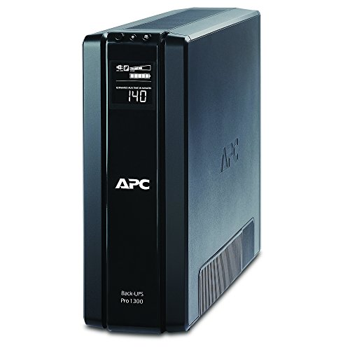 APC Back-UPS Pro 1300VA UPS Battery Backup & Surge Protector (BR1300G)