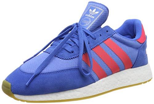 adidas I-5923, Zapatillas de Gimnasia para Hombre - Azul (True Blue/Shock Red/Gum 3) - 42 EU