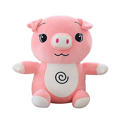 Yuhualiyi123 Vivid Pig Plush Toy Creative Cute Soft Toy Girls Birthday Gifts Pillows Personality Decoration Cushion Portable Pillow (Color : Pink, Size : 45cm)