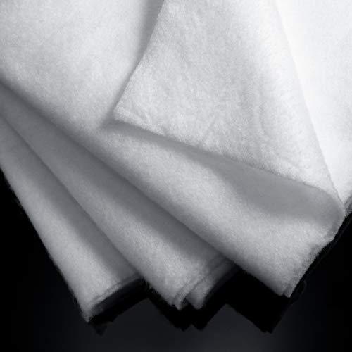 2 Piezas Guatas de Acolchar de Poliéster de 59 Pulgadas x 1 Yarda Guata Adhesiva Relleno de Acolchar de Tapizar para Artesanía Acolchada y Artes de Vestir (1 Yardas)