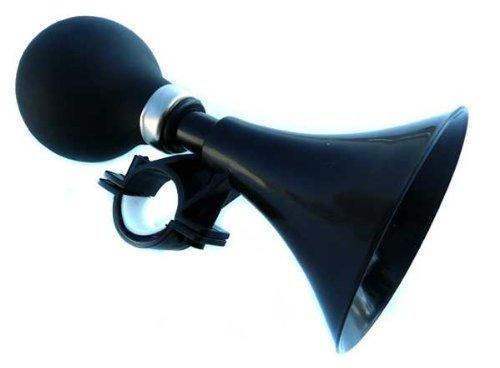 KANANA Fahrradglocke Glocke Fahrradklingel Fahrradhupe in schwarz (Hupe-S)