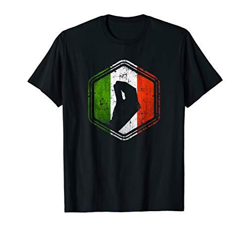 Italienische Flagge mit typischer Handgeste capisci? Zeichen T-Shirt