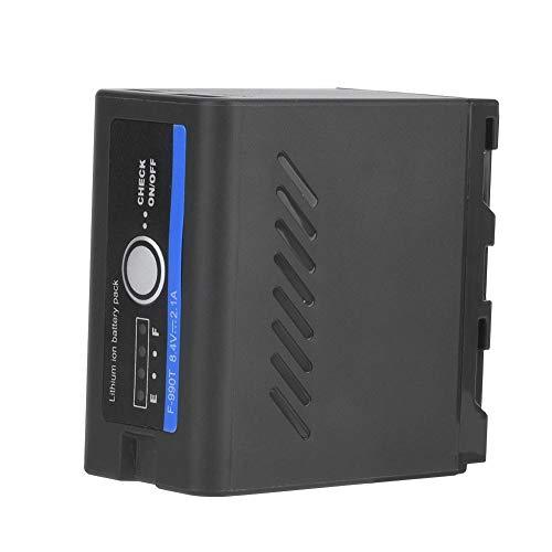 Mugast NP-F960 / 970 externe accu, type C-USB-voeding voor het opladen met temperatuurbescherming voor accu's en mobiele telefoons enz.