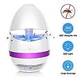 YUEFF Lámpara Anti Mosquitos Electrónica, Atrapa UV Lámpara para Mata Mosquitos Y Insectos, USB Protección del Medio Ambiente Interior Mosquito De La Lámpara,Púrpura