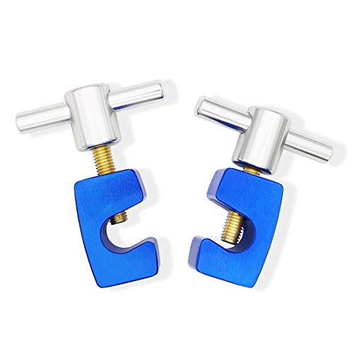 VASTOOLS Lift Support Clamp. For Hoods, Tailgates and Trunks with up to Dia.14mm shaft. Thick Metal Clamp, Set of 2