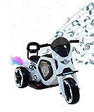 Airel Moto Eléctrica para Niños | Moto Eléctrica Niños | Moto Eléctrica con Música y Luz | Moto Batería para Niños | Moto para Niños 1-4 años