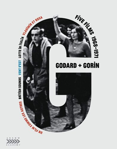 Jean-Luc Godard + Jean-Pierre Gorin: Five Films, 1968-1971 (6-Disc Special Edition) [Blu-ray + DVD]