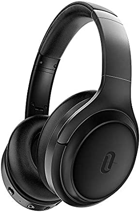 Noise Cancelling Headphones, TaoTronics [2019 Upgrade] 5.0 Bluetooth ANC Wireless Over Ear Headphones with Quick Charge, Hi-Fi Sound Deep Bass, 30 Hours Playtime for Travel Work TV PC Cellphone