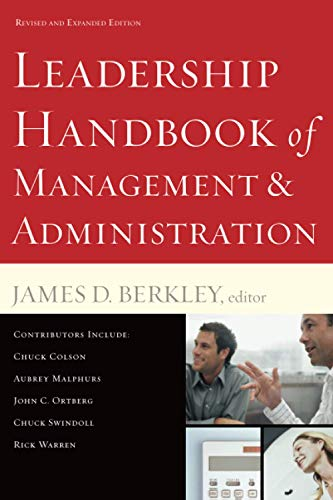 Compare Textbook Prices for Leadership Handbook of Management and Administration Revised ed. Edition ISBN 9780801068140 by Berkley