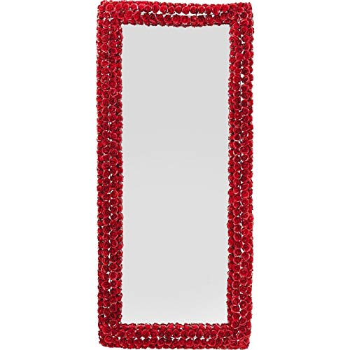 Kare Design Miroir Roses Rouges rectangulaire 180x80cm