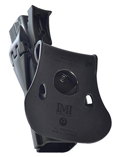 IMI Israel New Level 3 Retention Black Holster for Glock 17/22/28/31 Pistols Gen 4 Compatible (1410)