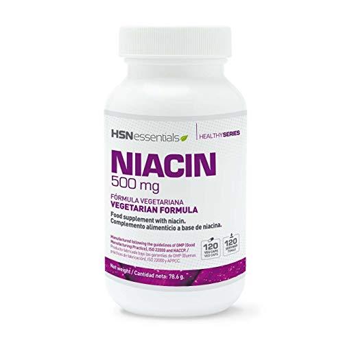 HSN Essentials - NIACINA 500mg - 120 Veg Caps