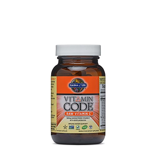 Vitamin Code, Raw Vitamin C, 60 Vegan Caps - Garden of Life - UK Seller