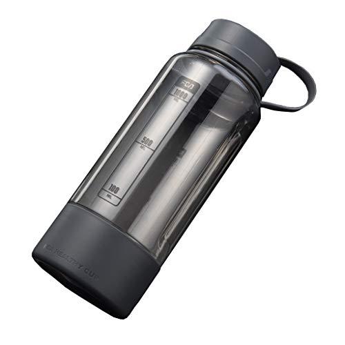 Room mok 1500 ml grote capaciteit mok mannen sport fitness waterkoker theekopje plastic waterfles 1000 ml