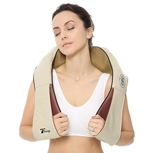 Thinp Massagegerät Nackenmassagegeräte Shiatsu für Nacken, Schulter,...