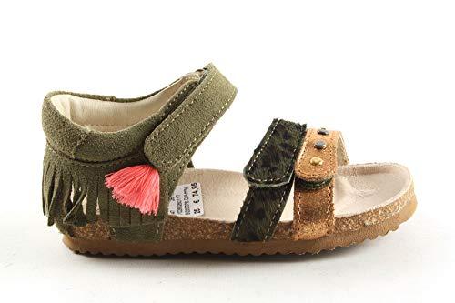 Meisjes Sandalen Shoesme Bi20s076-d Army Groen - Maat 25