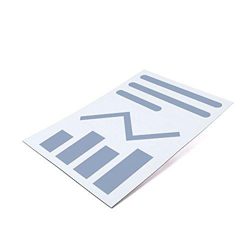10er Set - Bedruckbare Magnetfolie DIN A4 zum Beschriften und Zuschneiden, Oberfläche:Glänzend