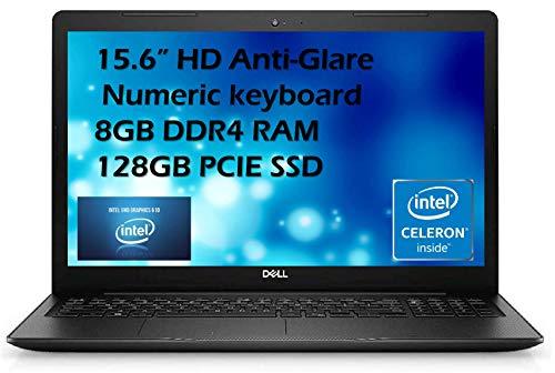 Dell 2021 Flagship Inspiron 15 3583 Laptop 15.6' HD Anti-Glare Display Intel Pentium Gold 5405U 8GB DDR4 128GB SSD Intel UHD Graphics 610 HDMI Webcam Win 10 Home