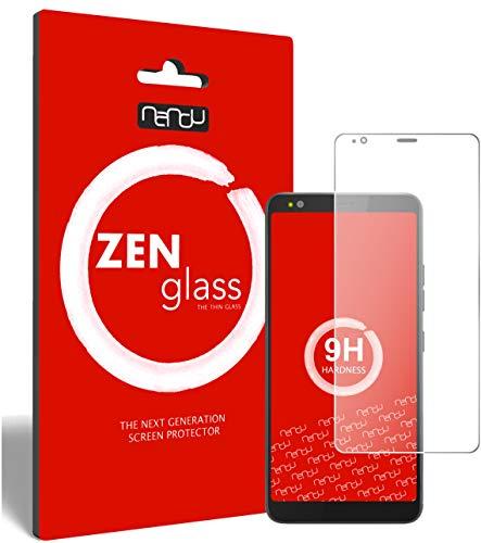 ZenGlass Flexible Glas-Folie kompatibel mit Gigaset GS370 Plus Panzerfolie I Bildschirm-Schutzfolie 9H