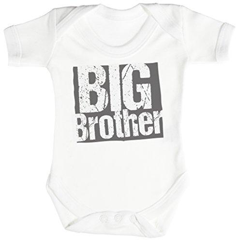 TRS - Big Brother Body bébé - cadeaux de bébé Naissance Blanc