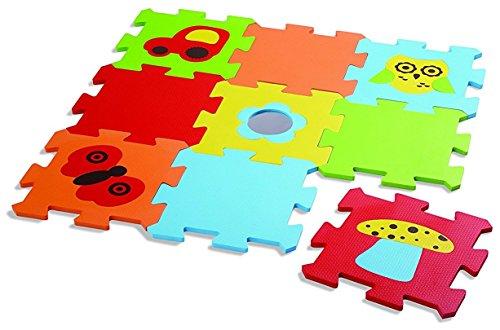 Edushape Baby Edu Tiles Puzzles, 9 Piece