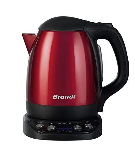 Brandt BO1200ER Hervidor, 2200 W, 1.2 litros, Rojo (Cocina)